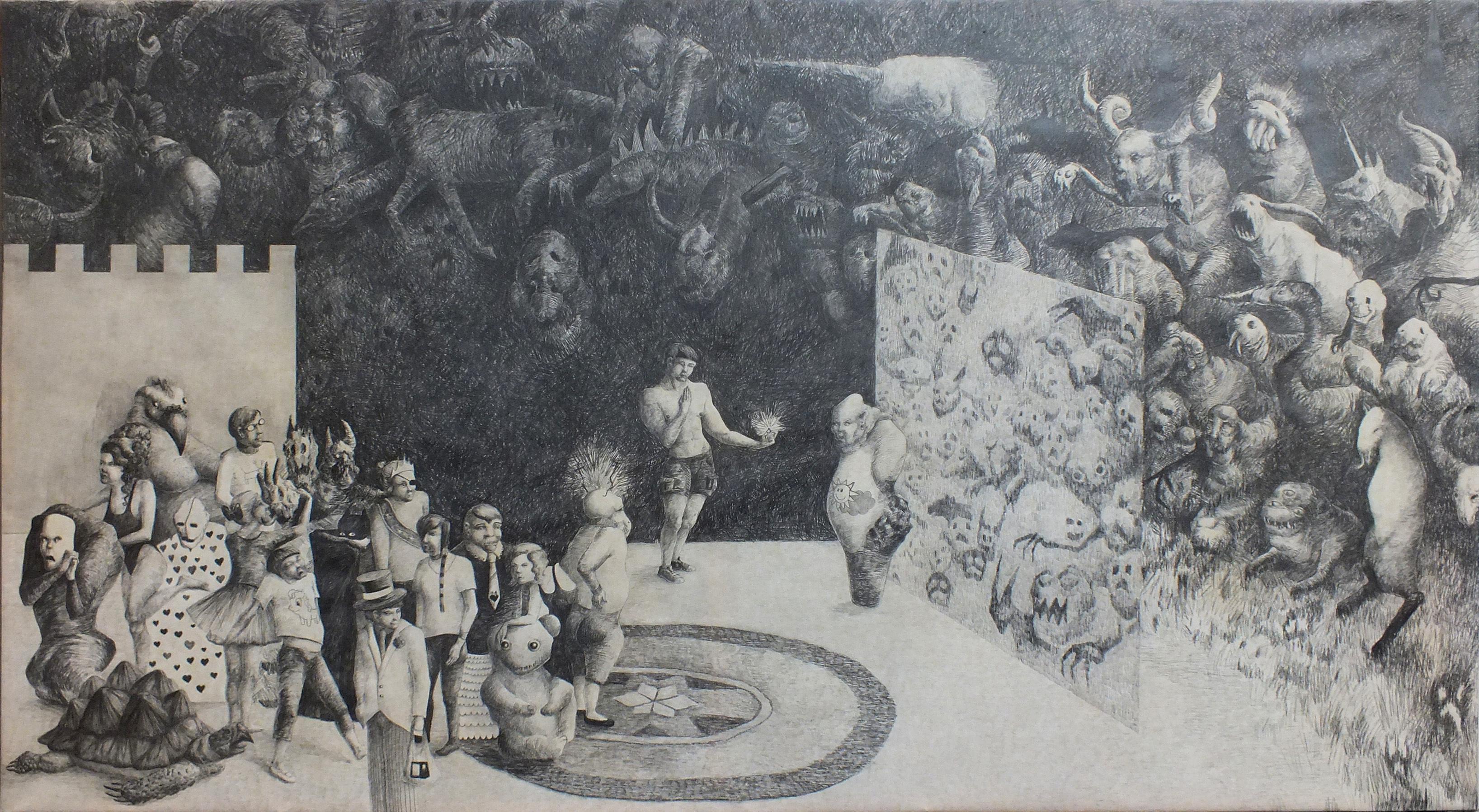 Andrea Lédlová, Osudové setkání u brány