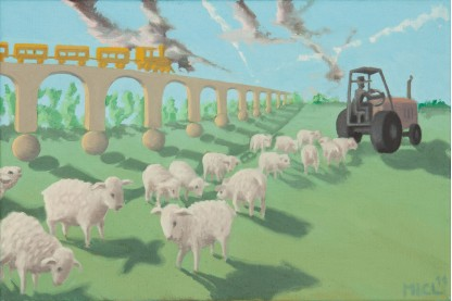 MICL, Ovce za traktorem